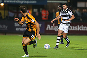Forest Green Rovers Omar Bugiel(11) on the ball during the EFL Sky Bet League 2 match between Cambridge United and Forest Green Rovers at the Cambs Glass Stadium, Cambridge, England on 26 September 2017. Photo by Shane Healey.