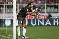 "Gianluigi Buffon Juventus<br /> Firenze 25/09/2012 Stadio ""Franchi""<br /> Football Calcio Serie A 2012/13<br /> Fiorentina v Juventus<br /> Foto Insidefoto Paolo Nucci"