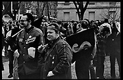 Madison, WI – May, 1970. Protesters against the war in Vietnam gather on campus. On May 1, 1970, there was a general student strike in response to the news that the U.S. had expanded bombing into Cambodia. There was a march against the war, led by Veterans for Peace in Vietnam; and after the May 4 shootings at Kent State University in Ohio, there were more protests at UW Madison, which led to the police being called in, and teargassing demonstrators in the streets and on campus.