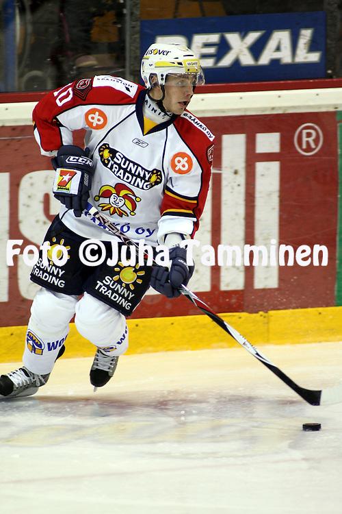 01.11.2008, Isom?en halli, Pori..J??kiekon SM-liiga 2008-09..?ss?t - Jokerit.Marko Kauppinen - Jokerit.©Juha Tamminen.....ARK:k