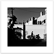 &quot;Shadowbomber&quot;, Newtown. From the Ephemeral Sydney street series.<br />