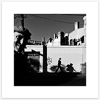 &quot;Shadowbomber&quot;, Newtown. From the Ephemeral Sydney street series.<br /> <br /> As featured in my Head On Photo Festival 2018 associated exhibition &ldquo;Ephemeral Sydney&rdquo;.<br /> <br /> Available print sizes (unframed): <br /> <br /> 30 x 30 cm - Limited edition of six (6) signed &amp; numbered pigment ink prints on Hahnem&uuml;hle Photo Rag Bright White archival paper + maximum two (2) artist&rsquo;s proofs - $220<br /> <br /> Framed prints available for delivery to Sydney metro area. POA.<br /> <br /> Price includes GST &amp; delivery within Australia.<br /> <br /> To order please email orders@girtbyseaphotography.com