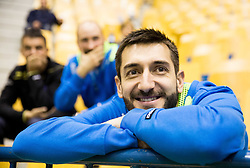 Dragan Gajic of Slovenia during friendly match between National Teams of Slovenia and Egypt at Day 1 of New Year Tournament Celje 2014, on December 27, 2014 in Arena Zlatorog, Celje, Slovenia. Photo by Vid Ponikvar / Sportida