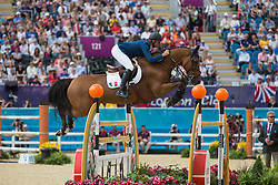 Guillon Olivier (FRA) - Lors de Theize<br /> Olympic Games London 2012<br /> © Dirk Caremans
