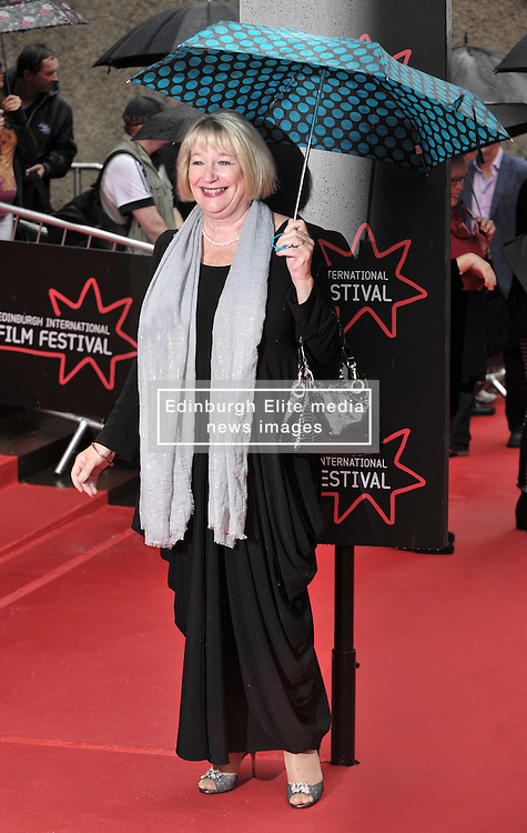 "Edinburgh International Film Festival, Sunday 26th June 2016<br /> <br /> Stars turn up on the closing night gala red carpet for the World Premiere of ""Whisky Galore!""  at the Edinburgh International Film Festival 2016<br /> <br /> Barbera Rafferty<br /> <br /> (c) Alex Todd 