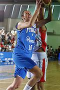DESCRIZIONE : Valmiera Latvia Lettonia Eurobasket Women 2009 Italia Bielorussia Italy Belarus<br /> GIOCATORE : Laura Macchi<br /> SQUADRA : Italia Italy<br /> EVENTO : Eurobasket Women 2009 Campionati Europei Donne 2009 <br /> GARA :  Italia Bielorussia Italy Belarus<br /> DATA : 09/06/2009 <br /> CATEGORIA : tiro<br /> SPORT : Pallacanestro <br /> AUTORE : Agenzia Ciamillo-Castoria/E.Castoria<br /> Galleria : Eurobasket Women 2009 <br /> Fotonotizia : Valmiera Latvia Lettonia Eurobasket Women 2009 Italia Bielorussia Italy Belarus<br /> Predefinita :