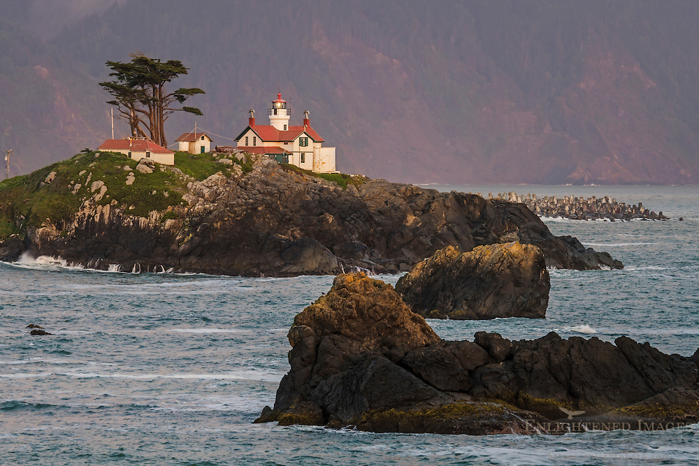 Battery Point Lighthouse, Crescent City, Del Norte County, California
