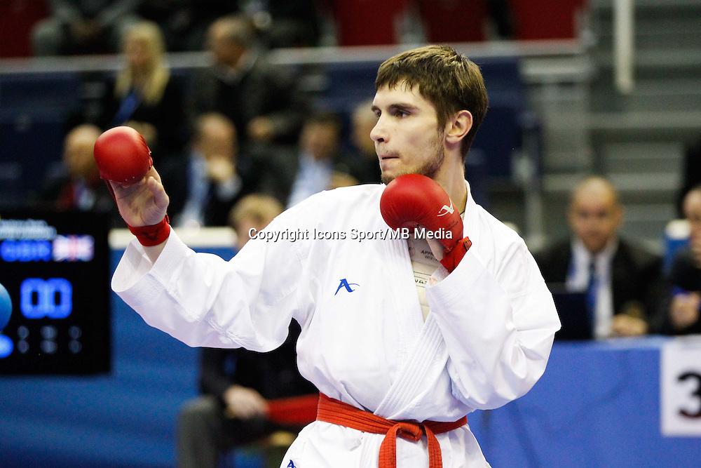 Sergey SPITSIN - 24.01.2015 - Open de Paris - Karate Premier League -<br />Photo : Johnny Fidelin / Icon Sport