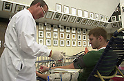 15516Blood Drive at the Convo.                    9/25/02 : photos by Krisanne Johnson