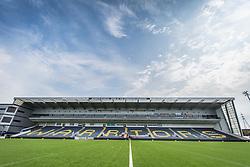 Six ways Stadium prepares for todays BAFA Britbowl finals - Mandatory by-line: Jason Brown/JMP - 27/08/2016 - AMERICAN FOOTBALL - Sixways Stadium - Worcester, England - London Warriors v London Blitz - BAFA Britbowl Finals Day