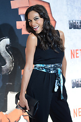July 31, 2017 - New York - Rosario Dawson attending Marvel's 'The Defenders' TV show premiere in New York City. (Credit Image: © Kristin Callahan/Ace Pictures via ZUMA Press)