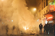 Manifestation contre la Réforme des retraites : échauffourées place de la Bastille 12/10/10