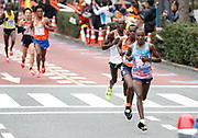 Dickson Chumba  (KEN) wins in 2:05:30 in the Tokyo Marathon in Tokyo, Sunday, Feb. 25, 2018. (Jiro Mochizuki/Image of Sport)