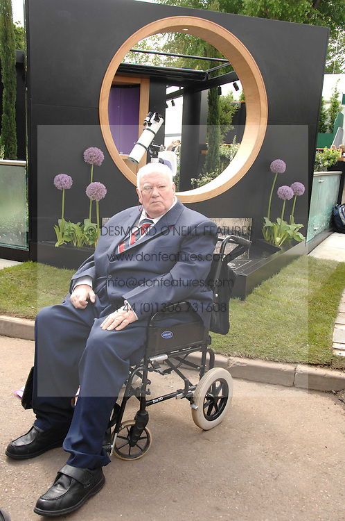 SIR PATRICK MOORE at the 2008 Chelsea Flower Show 19th May 2008.<br />