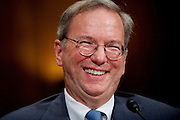 """ERIC SCHMIDT, executive chairman of Google Inc. testifies before a Senate Antitrust, Competition Policy and Consumer Rights Subcommittee hearing on """"The Power of Google: Serving Consumers or Threatening Competition?"""""""