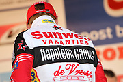 BELGIUM / BELGIQUE / BELGIE / BAAL / CYCLING / WIELRENNEN / CYCLISME / CYCLOCROSS / VELDRIJDEN / BPOST BANK TROFEE VELDRIJDEN / GP SVEN NYS / PODIUM / CELEBRATION / HULDIGING / KEVIN PAUWELS (SUNWEB - NAPOLEON GAMES) /