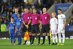 Leicester City v Leeds United EFL League Carabao Cup  Fourth Round, King Power Stadium Tuesday 24th October 2017, Score 2-1, Photo:Mike Capps