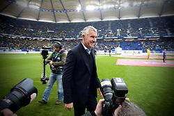 Football: Germany, 1. Bundesliga, Hamburg, 16.02.2014<br />Mirko Slomka coach (Hamburger SV)<br /> copyright: pixathlon