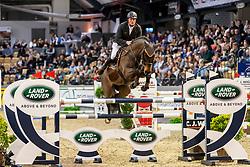 WERNKE Jan (GER), NASHVILLE HR<br /> Neumünster - VR Classics 2020<br /> Preis der Turnier- & Reitsportgemeinschaft Holstenhalle Neumünster e.V.<br /> CSI3* internationales Eröffnungsspringen nach Strafpunkten und Zeit (1,45m)<br /> Designer Outlet Neumünster Sonderpreis<br /> 14. Februar 2020<br /> © www.sportfotos-lafrentz.de/Stefan Lafrentz