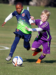 05 December 2015. Missouri City, Texas. <br /> Eclipse Soccer Club, 8th Annual Academy Cup - Toby Lazor Classic.<br /> New Orleans Jesters Youth Academy U10 Purple vs Houston Express Liverpool. Jesters win 5-3.  <br /> Photo©; Charlie Varley/varleypix.com