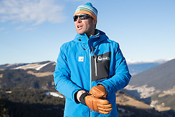 14.12.2016, Saslong, St. Christina, ITA, FIS Ski Weltcup, Groeden, Abfahrt, Herren, 1. Training, Streckenbesichtigung, im Bild Hannes Trinkl (FIS Renndirektor Weltcup Ski Alpin Herren) // Hannes Trinkl Race Director World Cup Men Speed Events of FIS during the course inspection for the 1st practice run of men's Downhill of FIS Ski Alpine World Cup at the Saslong race course in St. Christina, Italy on 2016/12/14. EXPA Pictures © 2016, PhotoCredit: EXPA/ Johann Groder