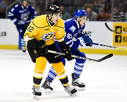 Jakob Brahaney of the Kingston Frontenacs. Photo by Aaron Bell/OHL Images
