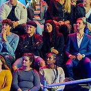 NLD/Amsterdam/20181107 - Opname Boxingstars 2018, 2e aflevering, Nick Roozen, Kaj van der Voort en partner Moise Trustfull