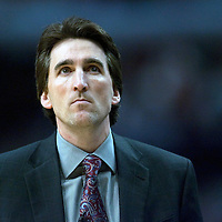 BASKET BALL - NBA 2008/2009 - CHICAGO BULLS V CLEVELAND CAVALIERS - CHICAGO (USA) - 15/01/2009 - PHOTO : CHRISTOPHE ELISE / DPPI.HEAD COACH VINNY  DEL NEGRO (CHICAGO BULLS)