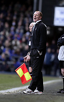 David Megson, Nottingham Forest Manager.<br /> Ipswich Town v Nottingham Forest. Coca Cola Championship. 12/03/05. Picture by Barry Bland