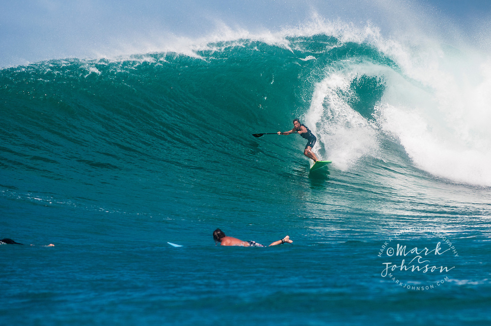 Terry Chung, Stand-up Paddle Surfing, Hawaii