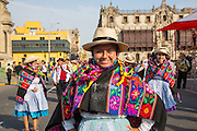 Carnival, Mardi Gras, Ciudad de los Reyes, Historic center of the city, Lima, Peru