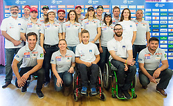 Alpine Ski Team during official presentation of the outfits of the Slovenian Ski Teams before new season 2015/16, on October 6, 2015 in Kulinarika Jezersek, Sora, Slovenia. Photo by Vid Ponikvar / Sportida