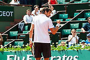 Jeremy Chardy (fra) during the Roland Garros French Tennis Open 2018, day 4, on May 30, 2018, at the Roland Garros Stadium in Paris, France - Photo Pierre Charlier / ProSportsImages / DPPI