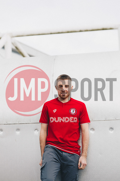 Bristol City's Joe Morrell (currently on loan at Lincoln City) signs a contract contract extension to keep him at the club until 2022 - Rogan/JMP - 20/11/2019 - Ashton Gate Stadium - Bristol, England - Sky Bet Championship.