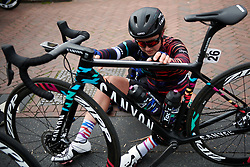 Rotem Gafinovitz (ISR) after Healthy Ageing Tour 2019 - Stage 2, a 134.4 km road race starting and finishing in Surhuisterveen, Netherlands on April 11, 2019. Photo by Sean Robinson/velofocus.com