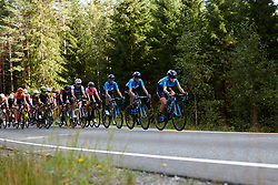 Lourdes Oyarbide (ESP) sets the pace during Ladies Tour of Norway 2019 - Stage 2, a 131 km road race from Mysen to Askim, Norway on August 23, 2019. Photo by Sean Robinson/velofocus.com