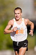 Ottawa, Ontario ---25/05/08--- Aigars Fadeevs runs during the ING Ottawa Marathon, May 26, 2008..GEOFF ROBINS /
