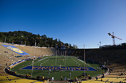 November 7, 2009; Berkeley, CA, USA;  Memorial Stadium before the game between the Oregon State Beavers and the California Golden Bears.