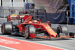 February 19, 2019 - Montmelo, BARCELONA, Spain - Charles Leclerc (Scuderia Ferrari Mission Winnow) seen in action during the winter test days at the Circuit de Catalunya in Montmelo (Catalonia), Tuesday, February 19, 2019. (Credit Image: © AFP7 via ZUMA Wire)