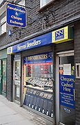 Pawnbrokers and cheque exchange shop, Colchester, Essex