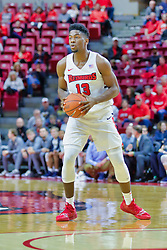NORMAL, IL - November 03:  Rey Idowu during a college basketball game between the ISU Redbirds  and the Augustana Vikings on November 03 2018 at Redbird Arena in Normal, IL. (Photo by Alan Look)