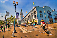 Cyclist @ The Ferry Building