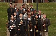 16674Jazz Ensemble group photo with Instruments Scripps: Matt James