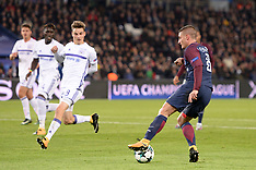 Paris SG v Anderlecht - 31 October 2017