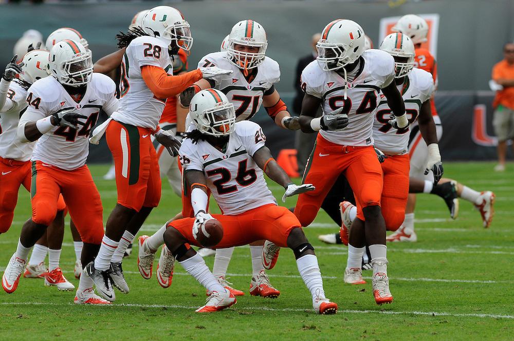 2012 Miami Hurricanes Football Spring Game