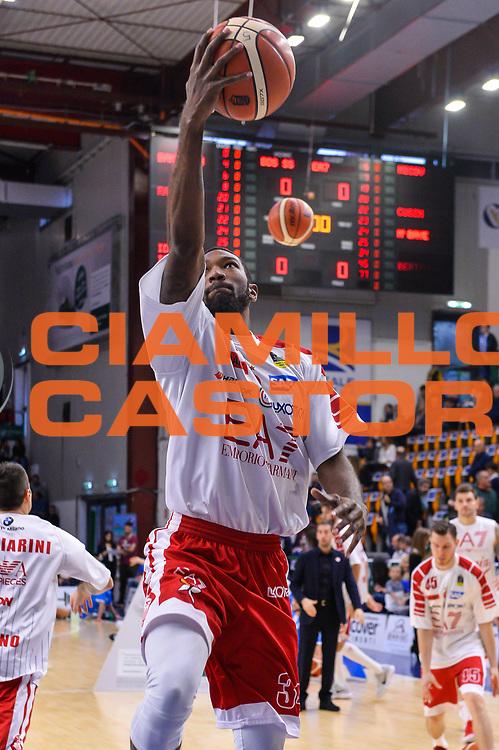 Cory Jefferson<br /> Banco di Sardegna Dinamo Sassari - Olimpia EA7 Emportio Armani Milano<br /> LegaBasket LBA Poste Mobile 2017/2018<br /> Sassari, 29/10/2017<br /> Foto L.Canu / Ciamillo-Castoria