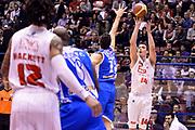 DESCRIZIONE : Milano Coppa Italia Final Eight 2014 Quarti di Finale EA7 Emporio Armani Milano Banco di Sardegna Sassari<br /> GIOCATORE : Kristjan Kangur<br /> CATEGORIA : Tiro Three Points<br /> SQUADRA : EA7 Emporio Armani Milano<br /> EVENTO : Beko Coppa Italia Final Eight 2014<br /> GARA : EA7 Emporio Armani Milano Banco di Sardegna Sassari<br /> DATA : 07/02/2014<br /> SPORT : Pallacanestro<br /> AUTORE : Agenzia Ciamillo-Castoria/R.Morgano<br /> Galleria : Lega Basket Final Eight Coppa Italia 2014<br /> Fotonotizia : Milano Coppa Italia Final Eight 2014 Quarti di Finale EA7 Emporio Armani Milano Banco di Sardegna Sassari<br /> Predefinita :