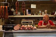 A butcher, Coyoacan Market.