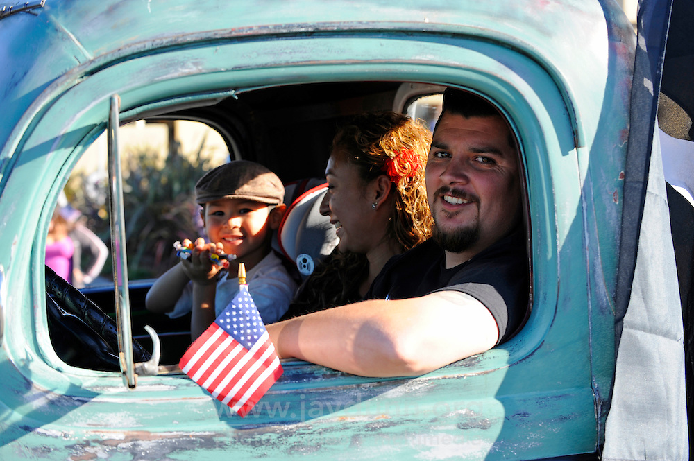 Vintage cars like this classic Chevy were a highlight of Sunday's 2nd Annual Monterey County Veteran's Day Parade in Oldtown Salinas.