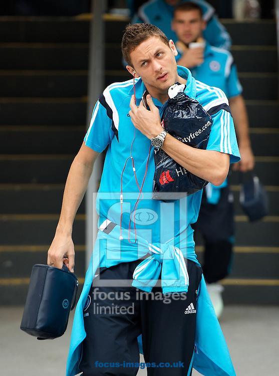Nemanja Matic of Chelsea arriving for the Barclays Premier League match at Selhurst Park, London<br /> Picture by Alan Stanford/Focus Images Ltd +44 7915 056117<br /> 18/10/2014